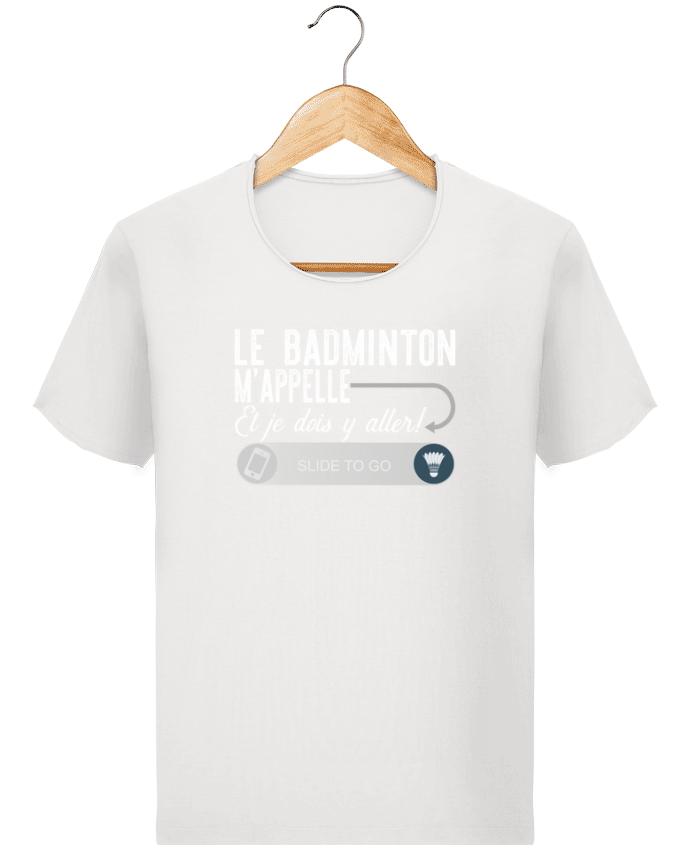 T-shirt Homme Stanley Imagines Vintage Badminton m'appelle par Original t-shirt