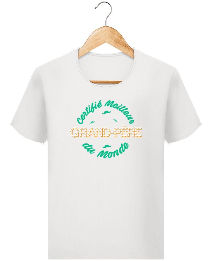 T-shirt Homme Stanley Imagines Vintage Certifié meilleur grand-père du monde par tunetoo