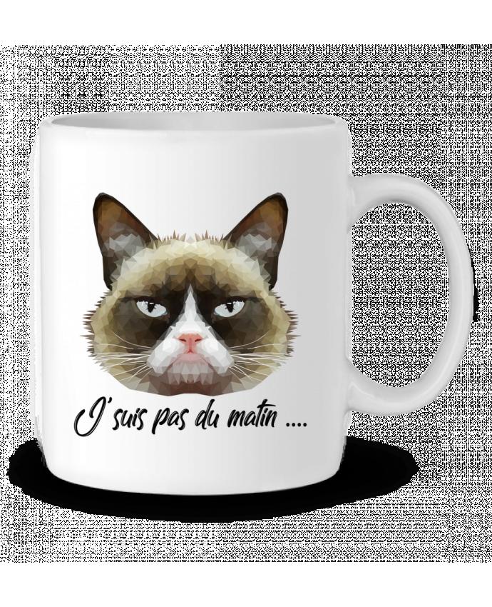 Mug en Céramique je suis pas du matin par DesignMe