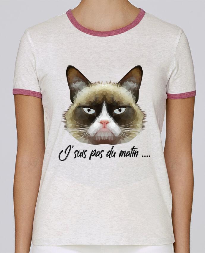 T-shirt Femme Stella Returns je suis pas du matin pour femme par DesignMe