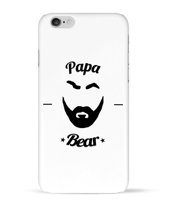 Coque 3D Iphone 6 Papa Bear par Ju Lie