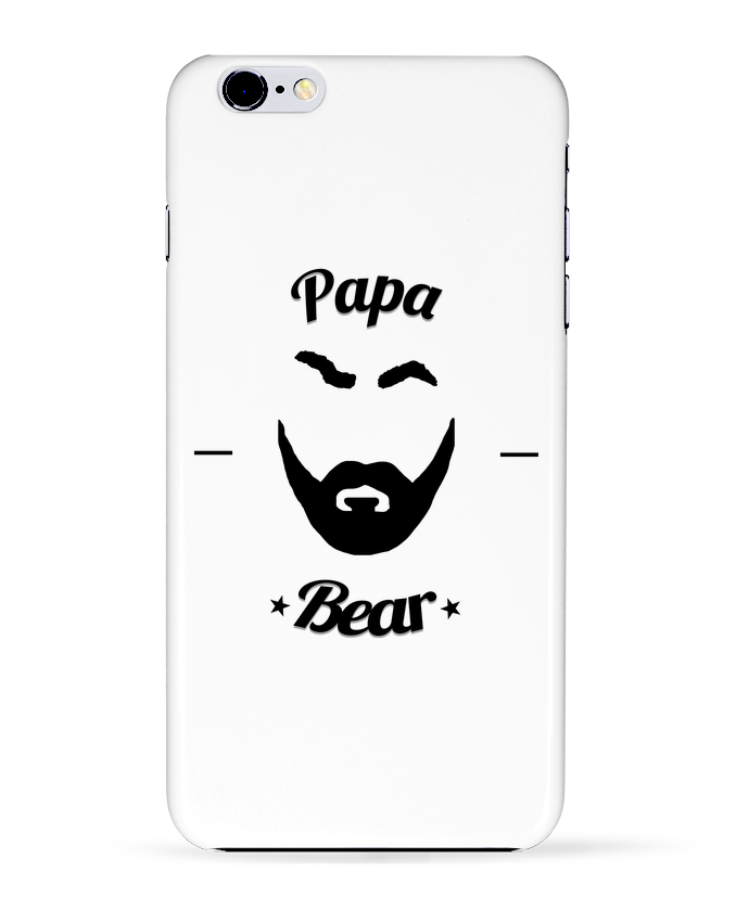 Coque 3D Iphone 6+ Papa Bear de Ju Lie