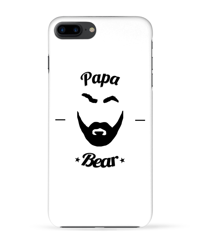 Coque 3D Iphone 7+ Papa Bear par Ju Lie