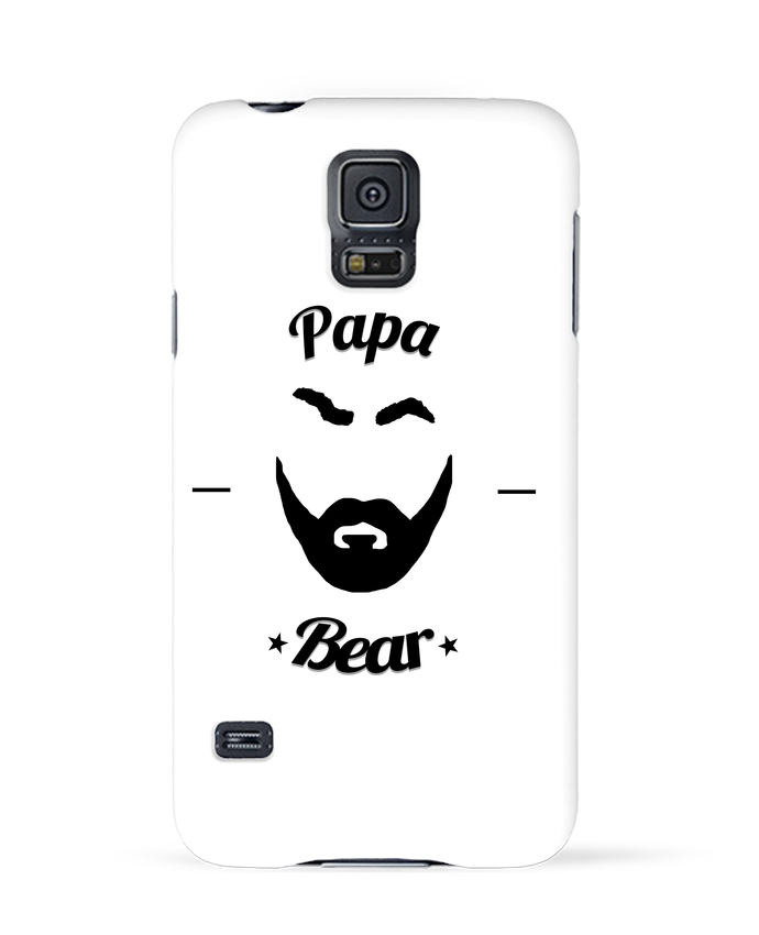 Coque 3D Samsung Galaxy S5 Papa Bear par Ju Lie
