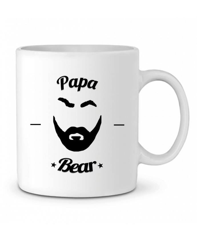 Mug en Céramique Papa Bear par Ju Lie