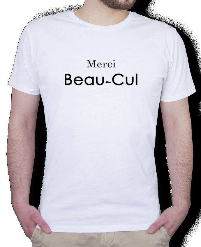 T-Shirt Homme Stanley Hips Merci Beau-cul par tunetoo