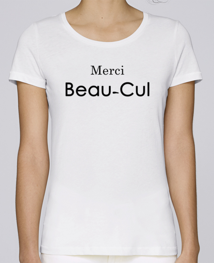 T-shirt Femme Stella Loves Merci Beau-cul par tunetoo