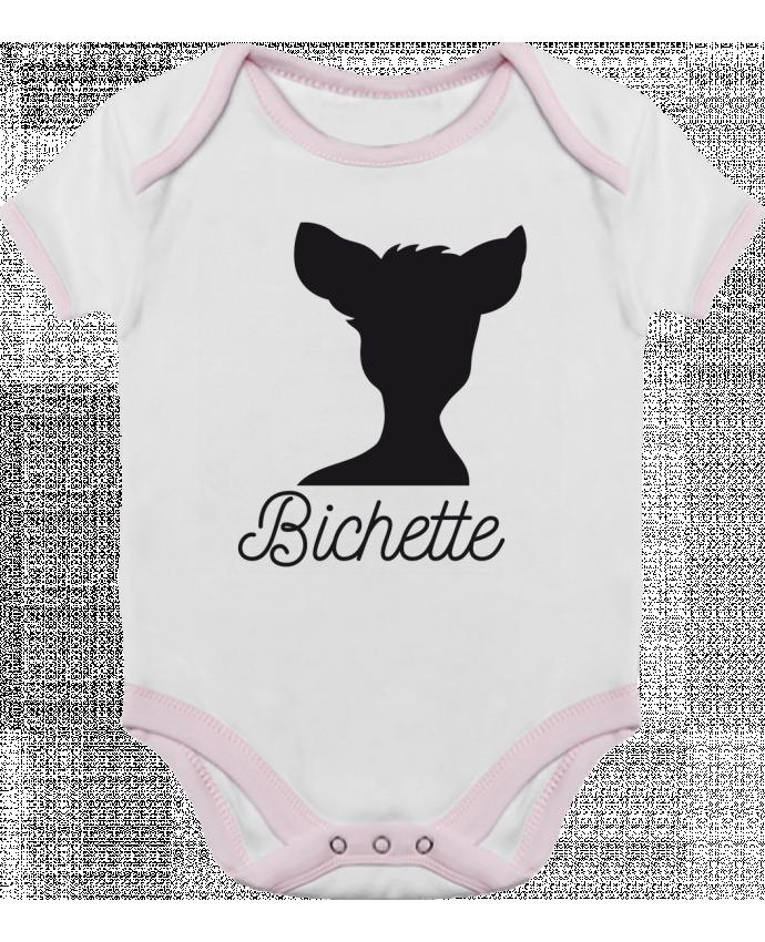 Body Bébé Contrasté Bichette par FRENCHUP-MAYO
