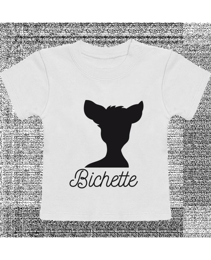 T-Shirt Bébé Manches Courtes Bichette manches courtes du designer FRENCHUP-MAYO