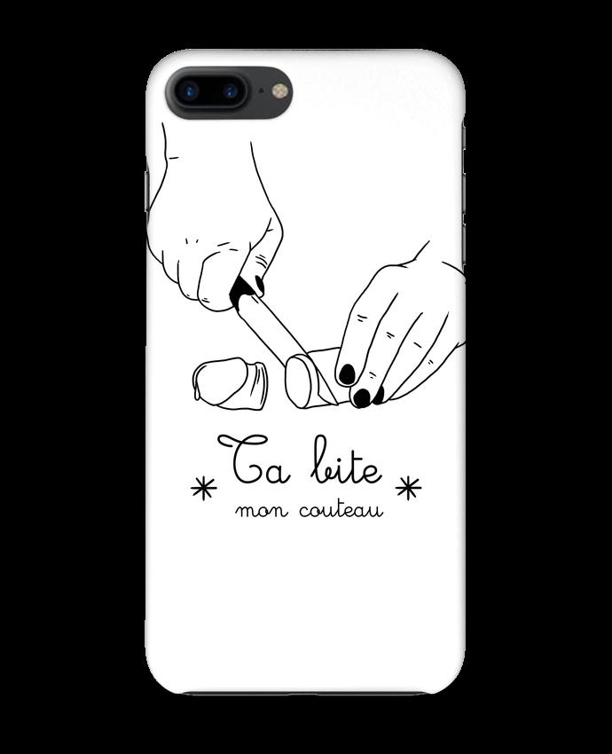 4211608 coque 3d iphone 7 blanc ta bite mon couteau by tattooanshort