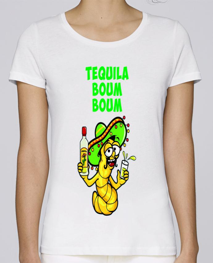 T-shirt Femme Stella Loves Tequila boum boum par mollymolly