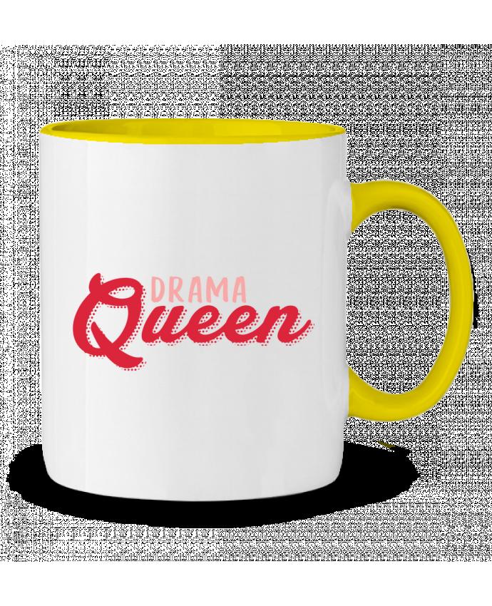 Mug bicolore Drama Queen tunetoo
