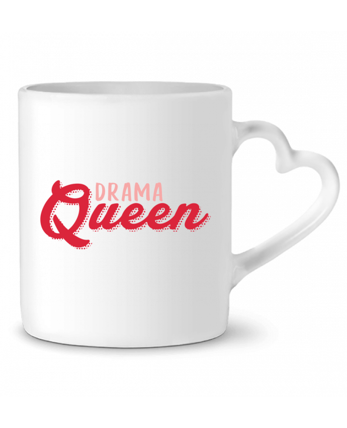 Mug Coeur Drama Queen par tunetoo