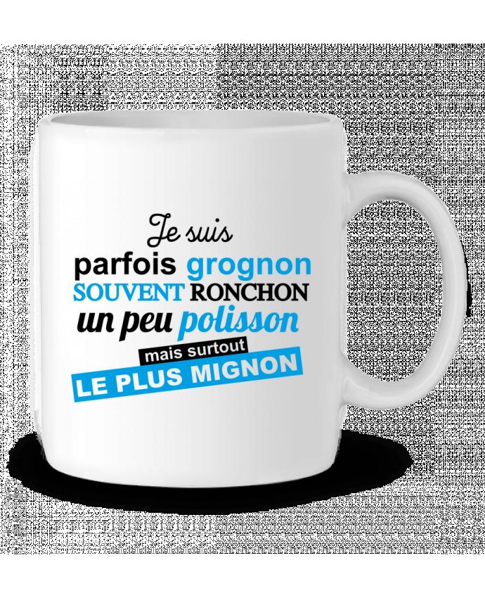 En Mignon Mug Polisson Par Kids Graphick Grognon Céramique Ronchon m0Owv8Nn