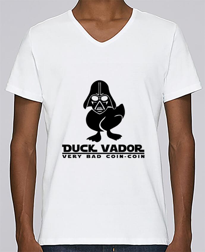T-shirt Col V Homme Stanley Relaxes Duck Vador par Fnoul