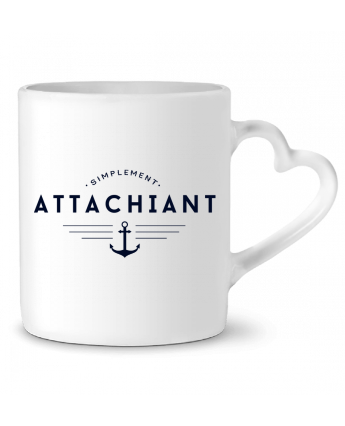 Mug Coeur Attachiant par PTIT MYTHO