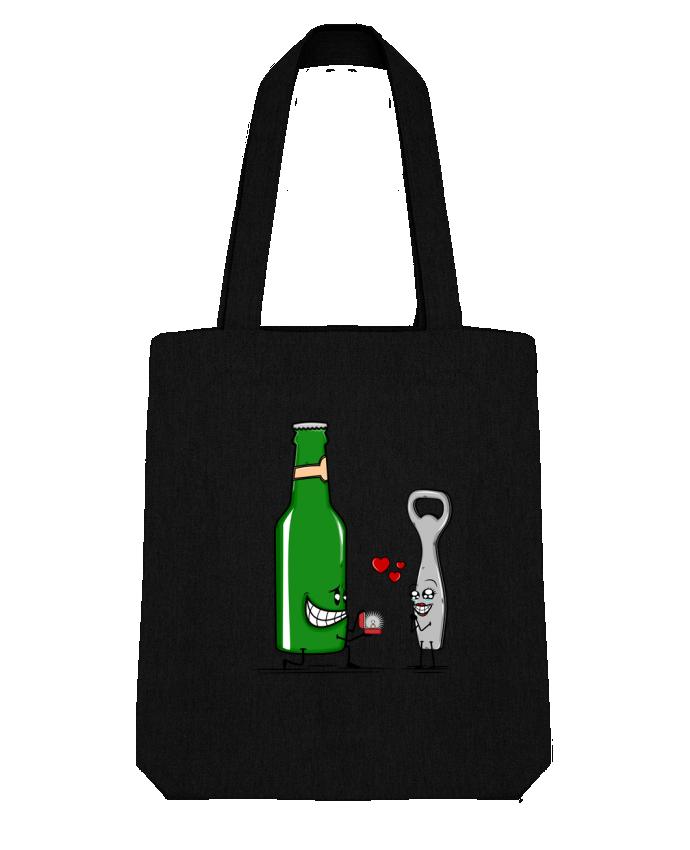 Tote Bag Stanley Stella BEER ROMANCE par PTIT MYTHO