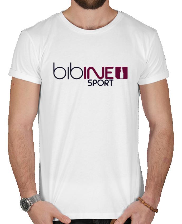 T-shirt  Homme 180g BIBINE SPORT par PTIT MYTHO