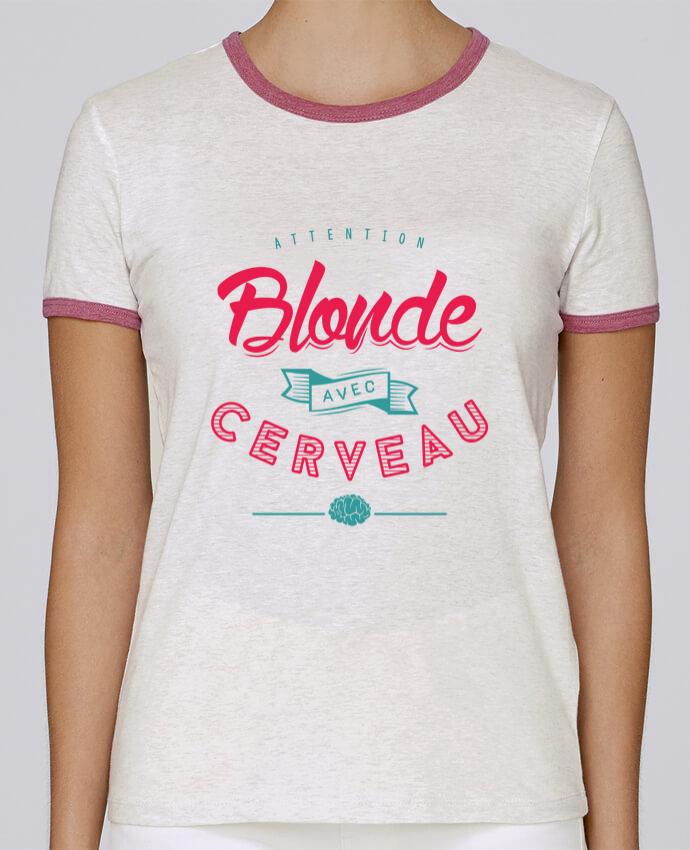 T-shirt Femme Stella Returns BLONDE AVEC CERVEAU pour femme par PTIT MYTHO
