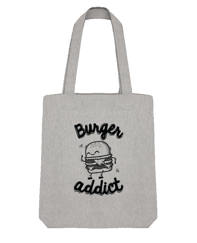 Tote Bag Stanley Stella BURGER ADDICT par PTIT MYTHO