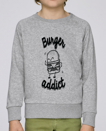 Sweat Col Rond Enfant Stanley Mini Scouts BURGER ADDICT par PTIT MYTHO