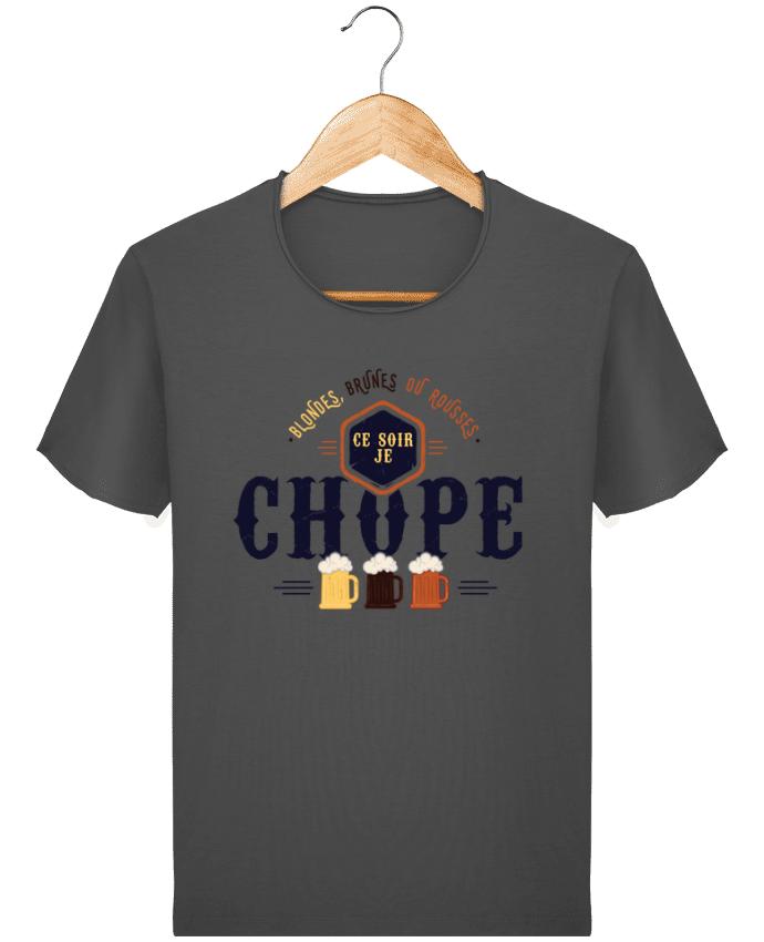 T-shirt Homme vintage CE SOIR JE CHOPE par PTIT MYTHO