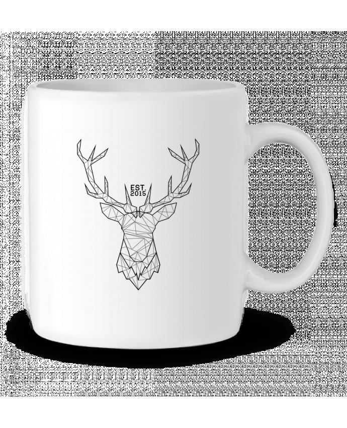 Mug en Céramique CERF GRAPHIQUE par PTIT MYTHO