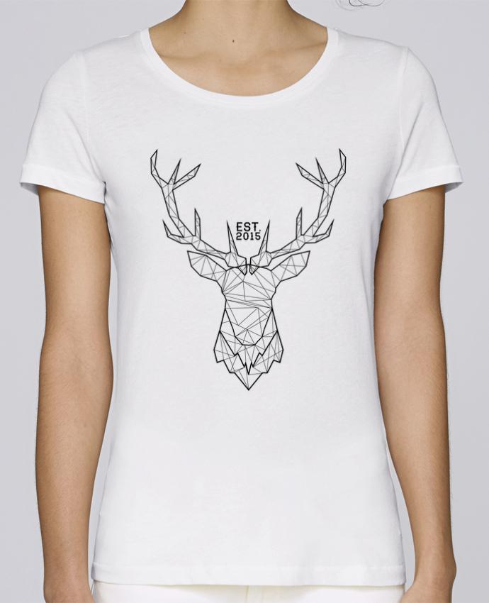 T-shirt Femme Stella Loves CERF GRAPHIQUE par PTIT MYTHO