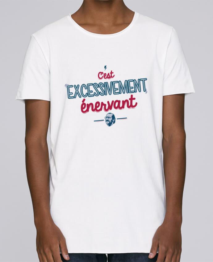T-shirt Homme Oversized Stanley Skates C'EST  EXCESSIVEMENT ENERVANT par PTIT MYTHO