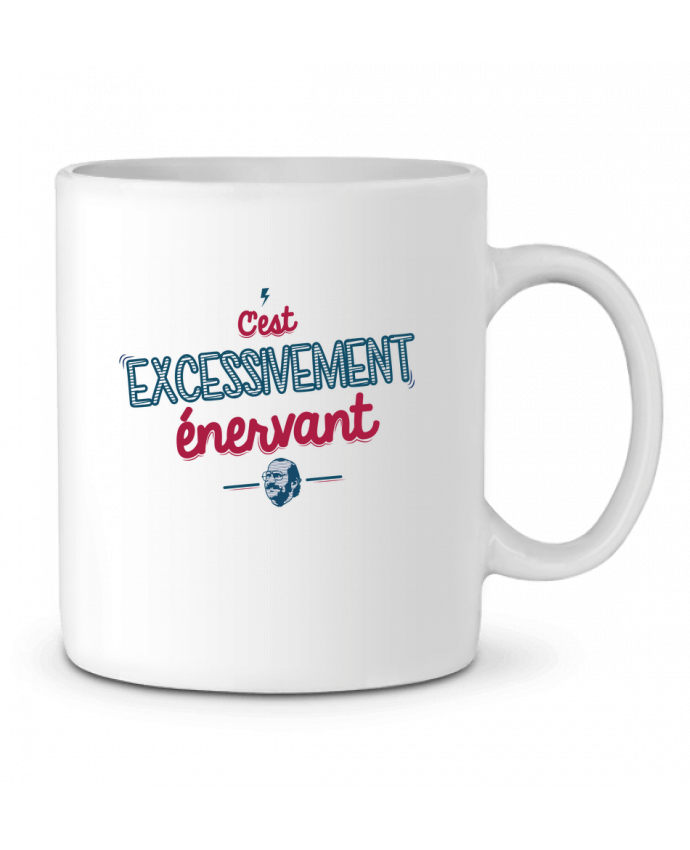 Mug en Céramique C'EST  EXCESSIVEMENT ENERVANT par PTIT MYTHO