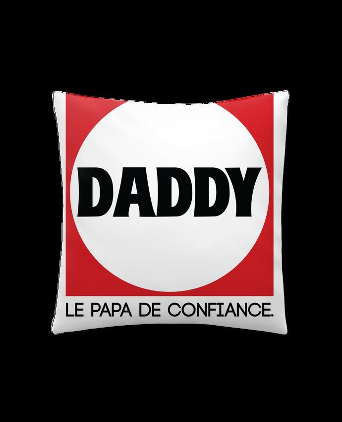Coussin Synthétique Doux 41 x 41 cm DADDY LE PAPA DE CONFIANCE par PTIT MYTHO