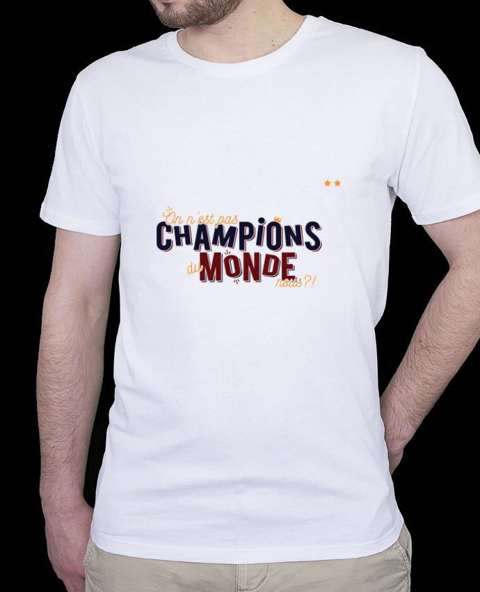 T-Shirt Homme Stanley Hips CHAMPIONS DU MONDE par PTIT MYTHO