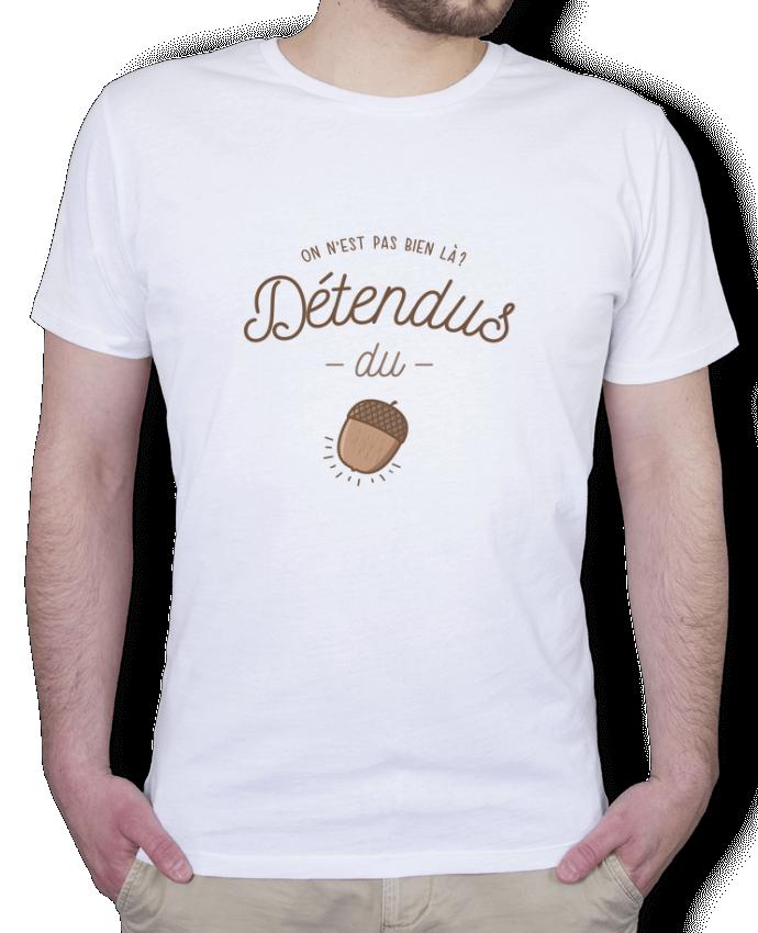 T-Shirt Homme Stanley Hips DETENDUS DU GLAND par PTIT MYTHO