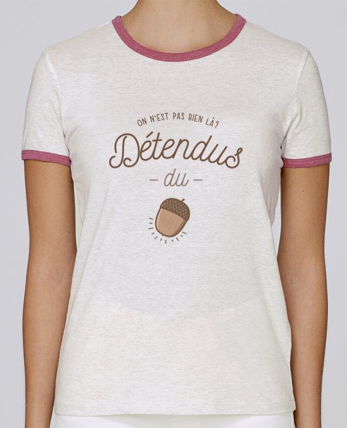 T-shirt Femme Stella Returns DETENDUS DU GLAND pour femme par PTIT MYTHO