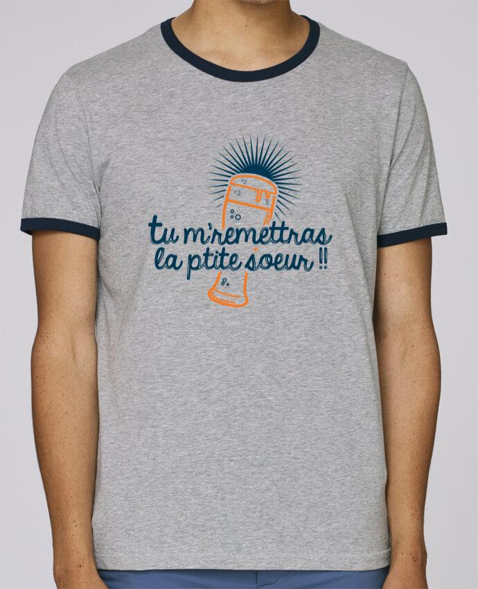 T-Shirt Ringer Contrasté Homme Stanley Holds La ptite soeur pour femme par PTIT MYTHO
