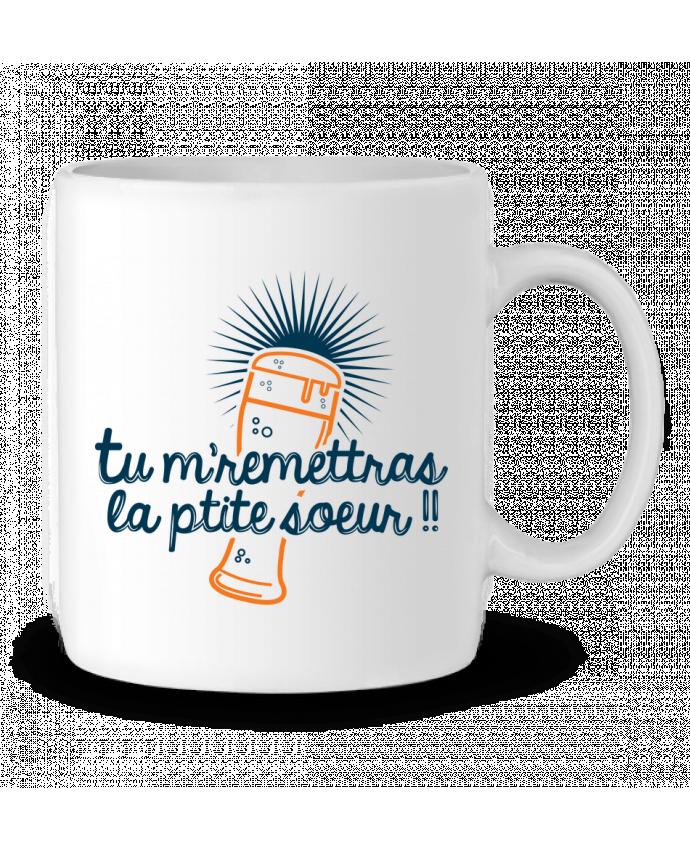 Mug en Céramique La ptite soeur par PTIT MYTHO