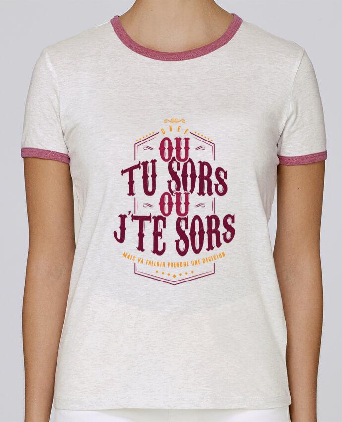 T-shirt Femme Stella Returns Ou tu sors ou jte sors pour femme par PTIT MYTHO