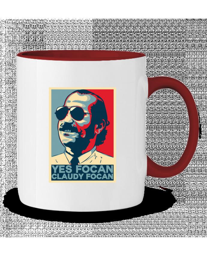 Mug en Céramique Bicolore Yes Focan PTIT MYTHO