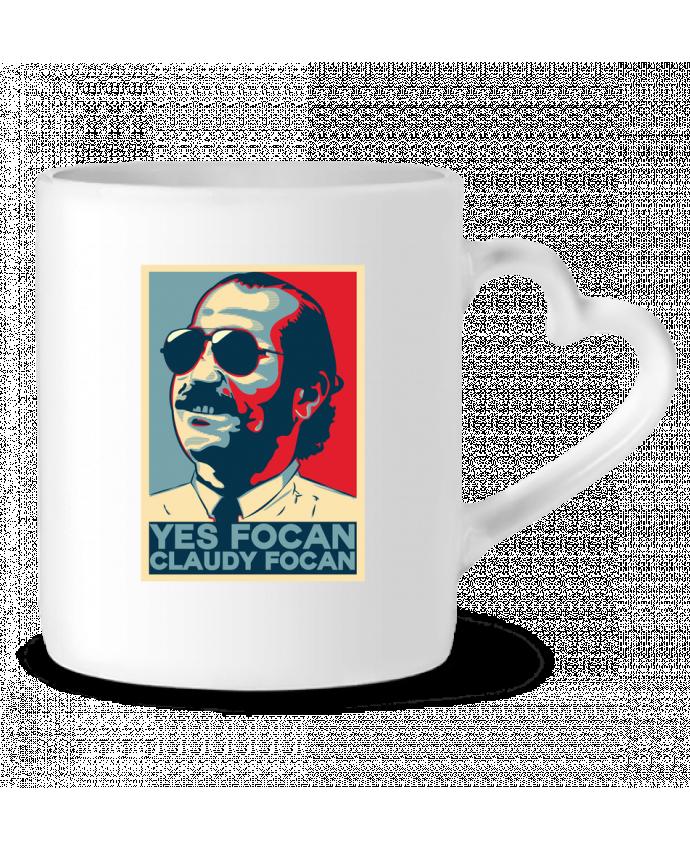 Mug Coeur Yes Focan par PTIT MYTHO