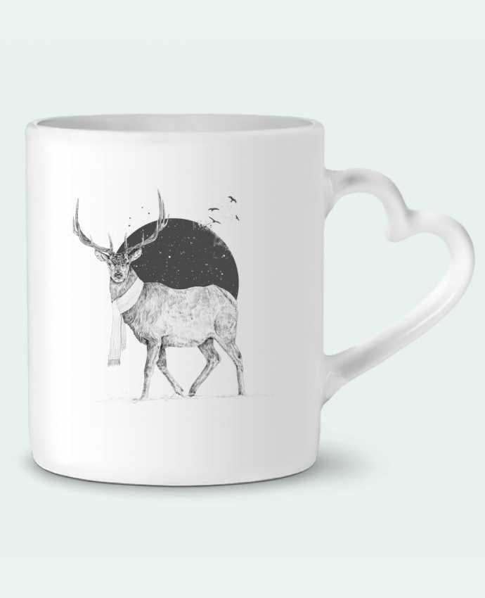 Mug Coeur Winter is all around par Balàzs Solti
