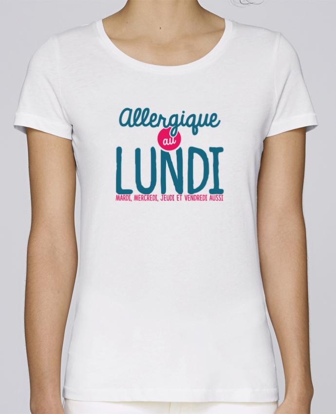 T-shirt Femme Stella Loves ALLERGIQUE AU LUNDI ... MAIS PAS QUE par PTIT MYTHO