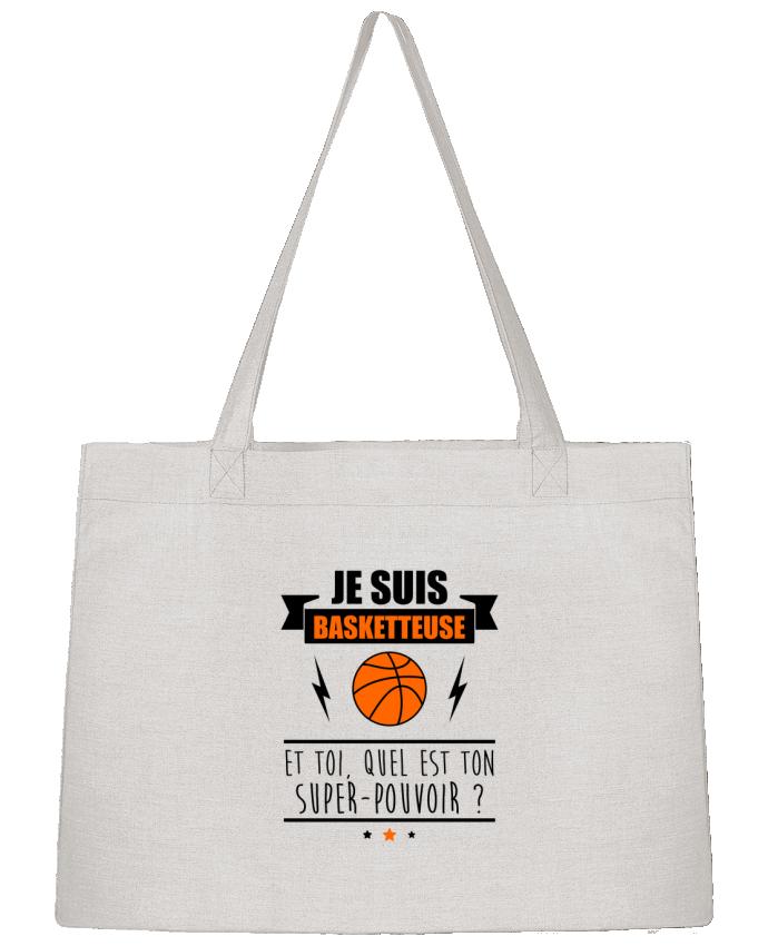 Sac Cabas Shopping Stanley Stella Je suis basketteuse et toi, quel est ton super-pouvoir ? par Benichan