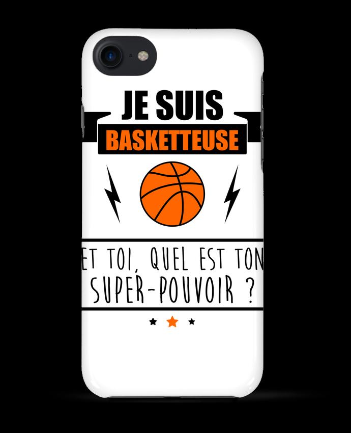 Coque 3D Iphone 7 Je suis basketteuse et toi, quel est ton super-pouvoir ? de Benichan