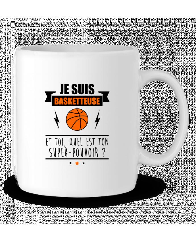 Mug en Céramique Je suis basketteuse et toi, quel est ton super-pouvoir ? par Benichan