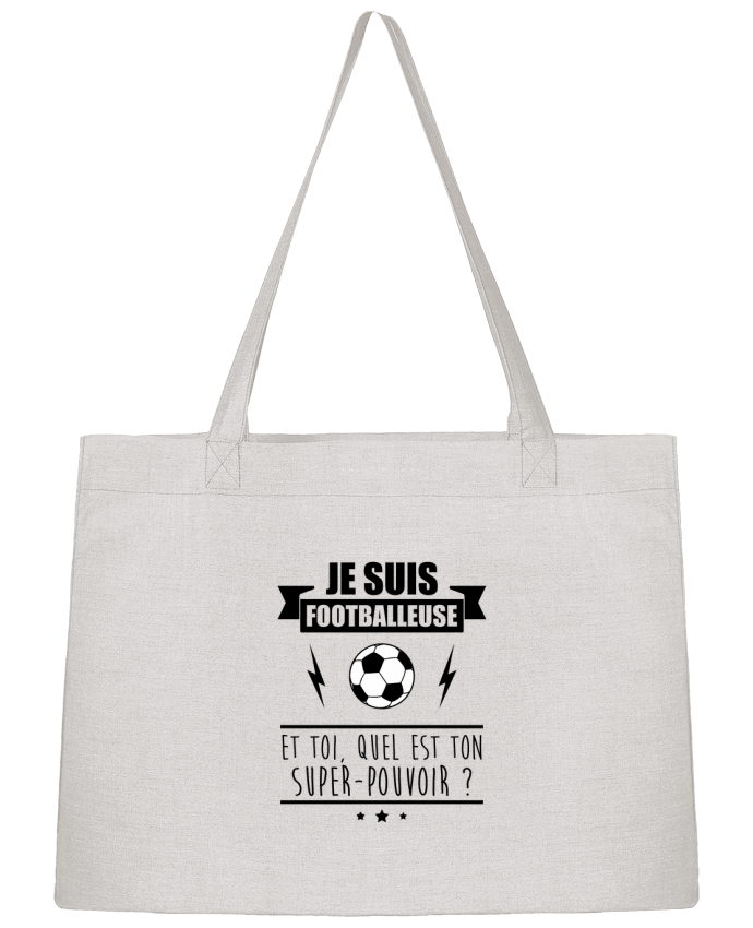 Sac Cabas Shopping Stanley Stella Je suis footballeuse et toi, quel est ton super-pouvoir ? par Benichan