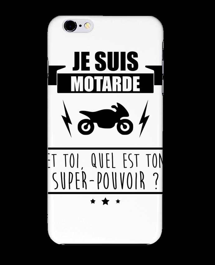 Coque 3D Iphone 6+ Je suis motarde et toi, quel est ton super-pouvoir ? de Benichan