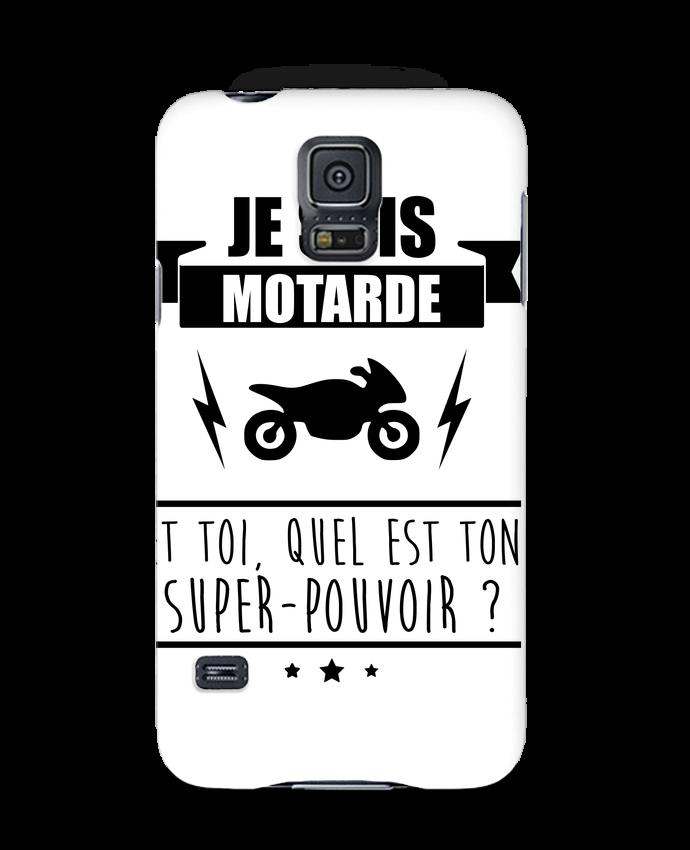 Coque 3D Samsung Galaxy S5 Je suis motarde et toi, quel est ton super-pouvoir ? par Benichan