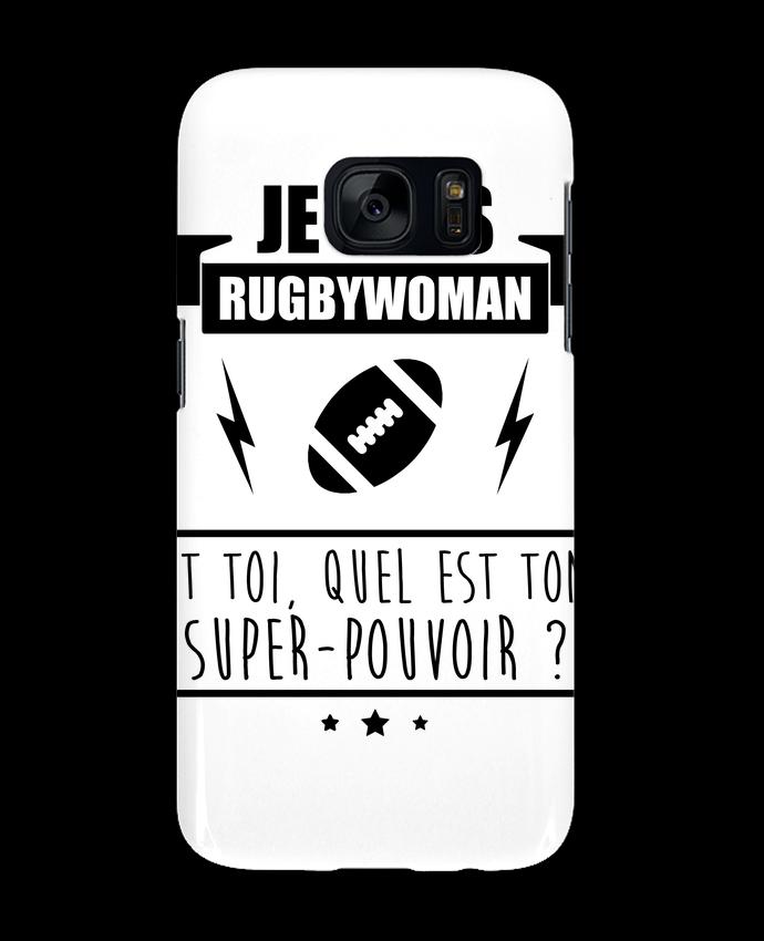Coque 3D Samsung Galaxy S7 Je suis rugbywoman et toi, quel est ton super-pouvoir ? par Benichan