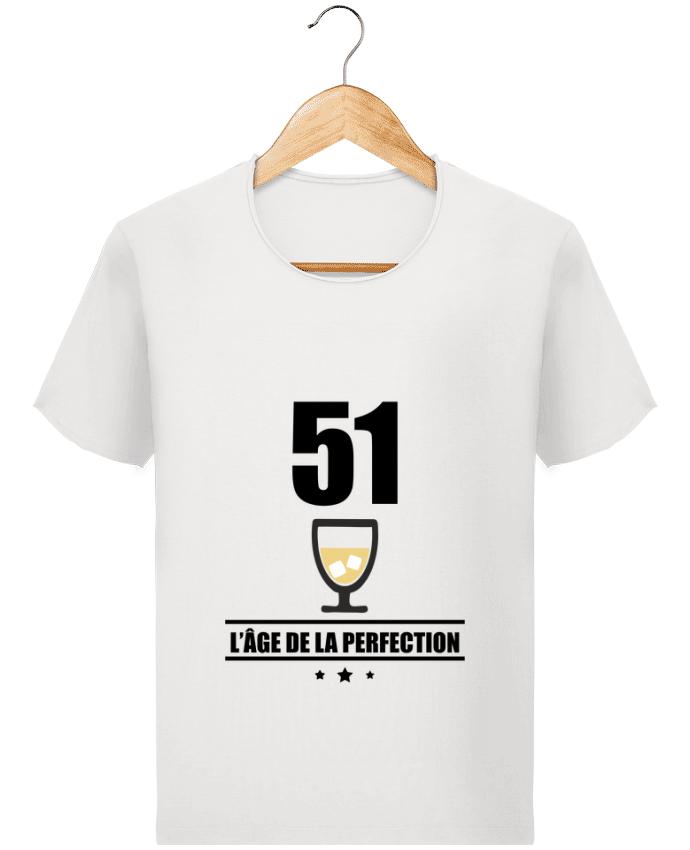 T-shirt Homme Stanley Imagines Vintage 51 ans, âge de la perfection, pastis, anniversaire par Benichan