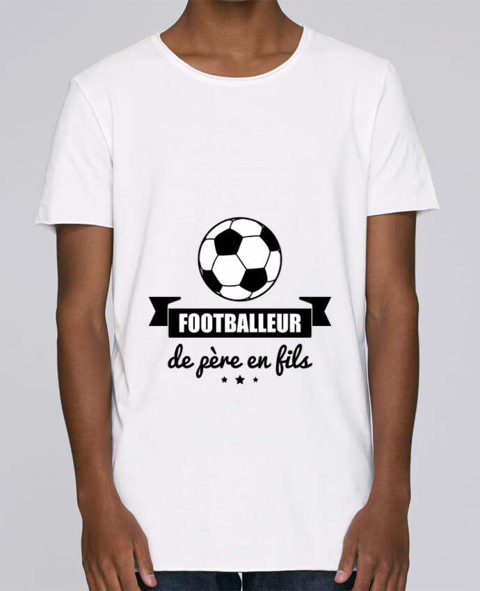 T-shirt Homme Oversized Stanley Skates Footballeur de père en fils, foot, football par Benichan